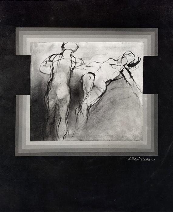 Figurit mustalla 1969